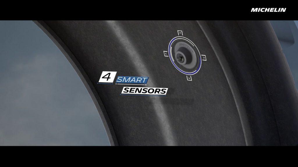 Michelin Pilot Sport Cup 2 Connect bluetooth sensoren