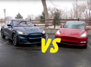 Ford Mach-E vs Tesla Y