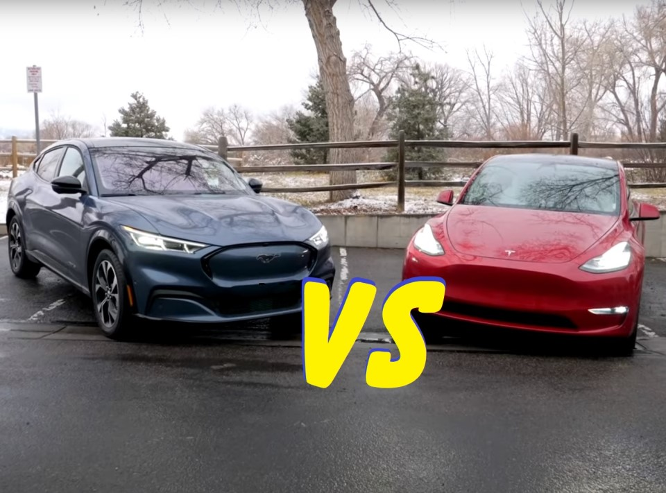 Ford Mach-E vs Tesla Y
