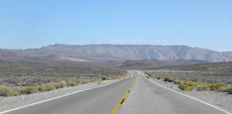 Autoverhalen woestijn