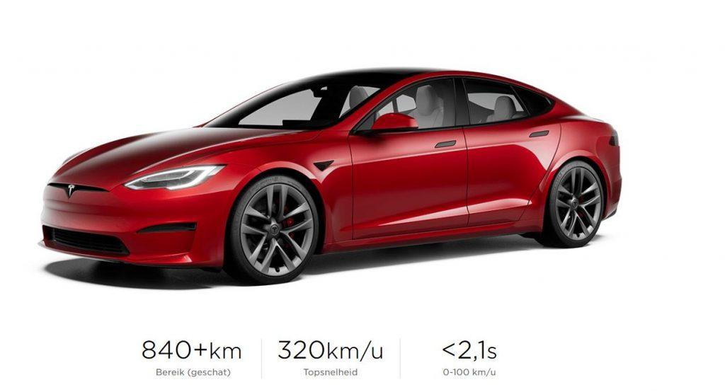 Tesla Model S 2021 Plaid +