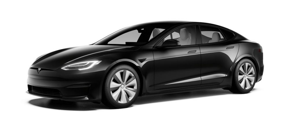 standaard Tesla Model S 2021