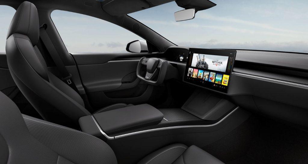 Tesla Model S facelift 2021 zwart