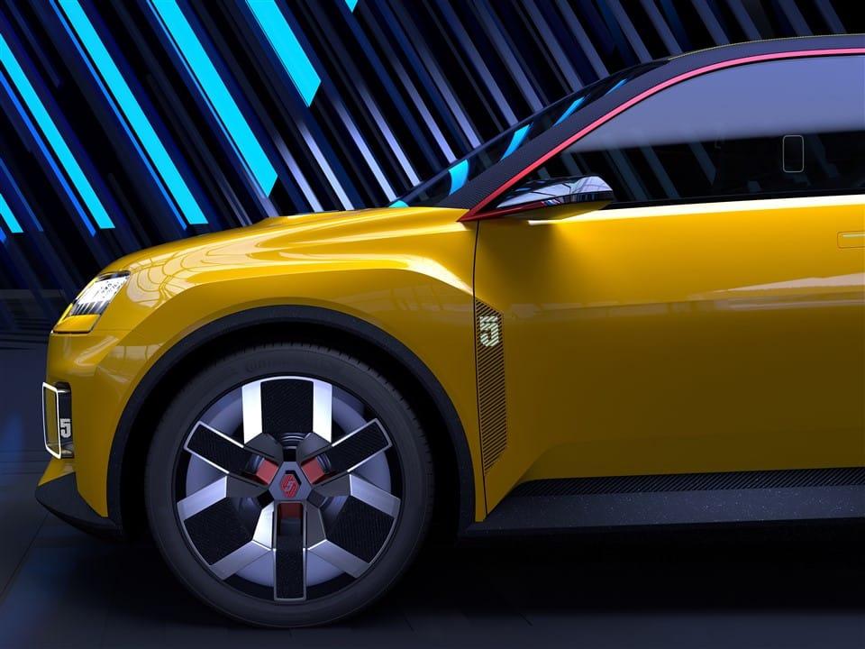 Renault 5 uitgebouwde wielkasten