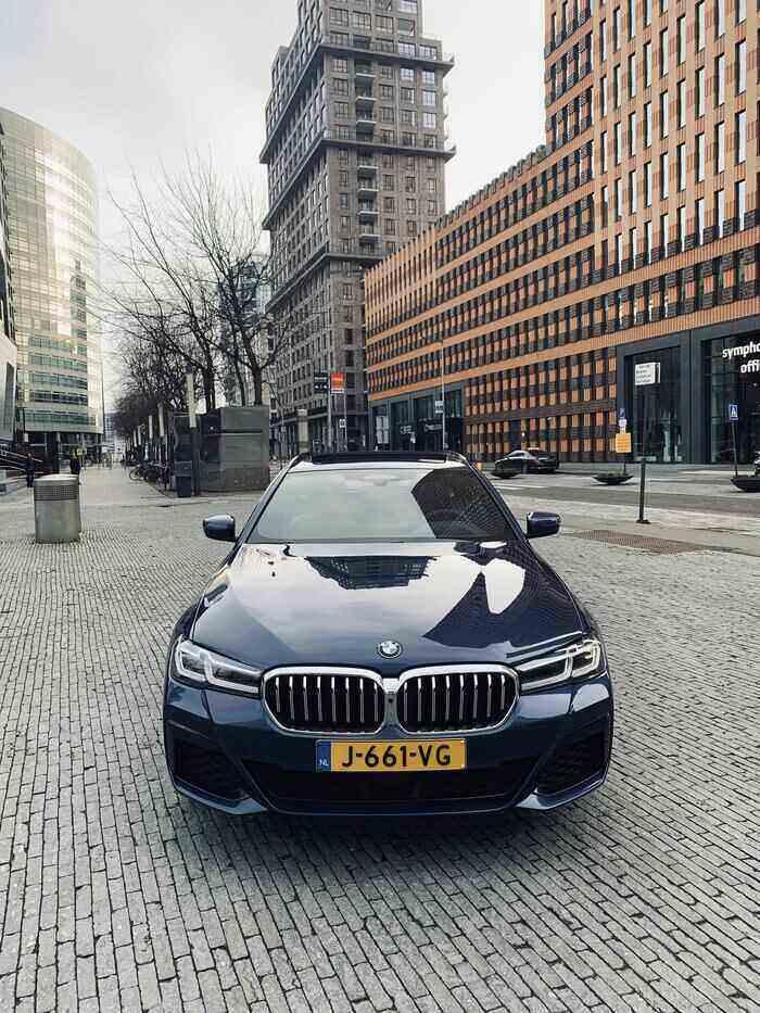 rijtest BMW 530d voorkant