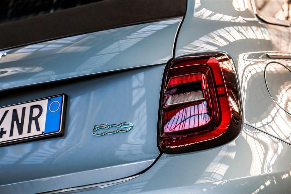 LED achterlichten Fiat 500e