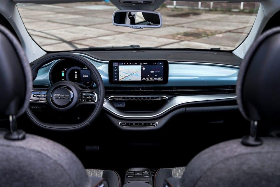 interieur Fiat 500e