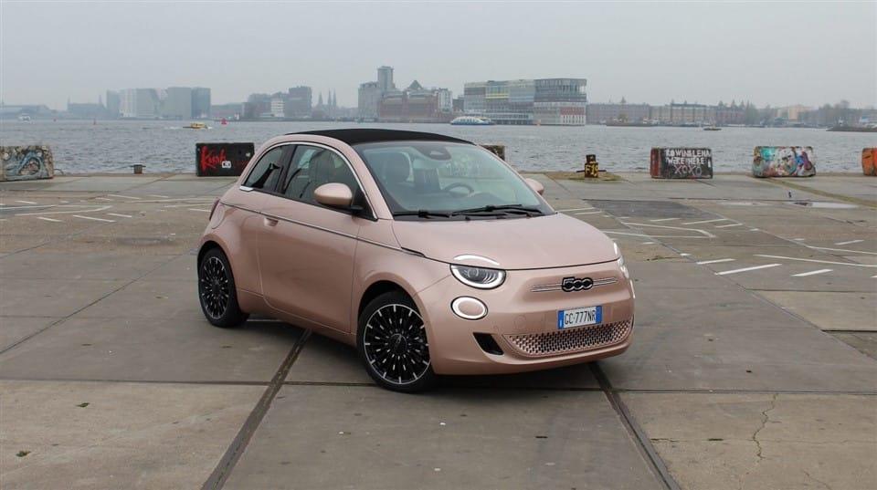 Fiat 500 haven van Amsterdam