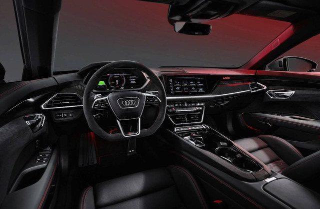 Audi RS e-Tron GT interieur
