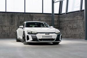 Audi e-Tron GT front