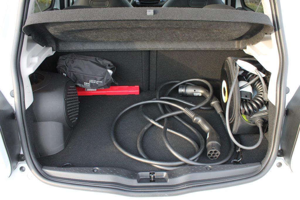 bagageruimte Smart EQ Forfour