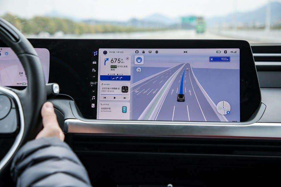 Xpeng P7 rijdt autonoom