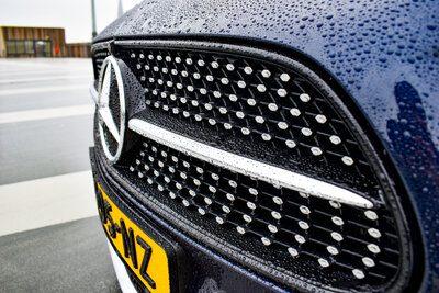 AMG-grill van de Mercedes E-Klasse