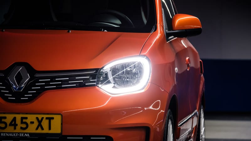 koplamp linksvoor oranje Renault Twingo Electric