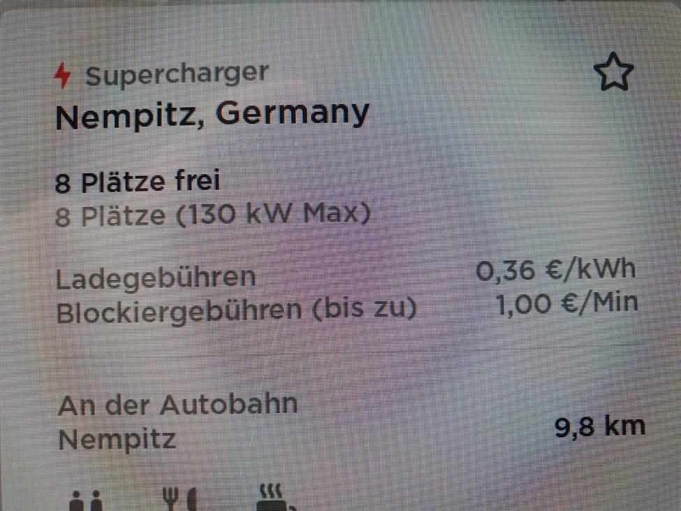 Tesla verhoogt prijs Superchargers in Duitsland naar € 0,36