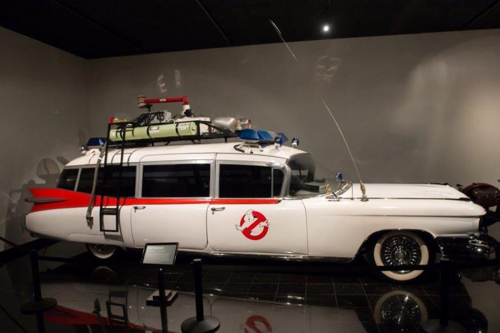 ECTO-1 in het Petersen Museum