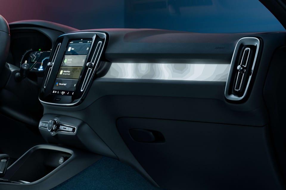 Ledervrij Interieur Volvo C40 Recharge