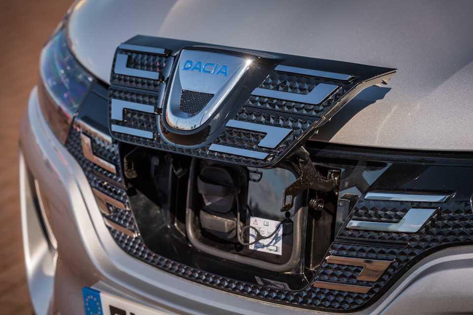 Dacia Spring Electric aansluitpunt