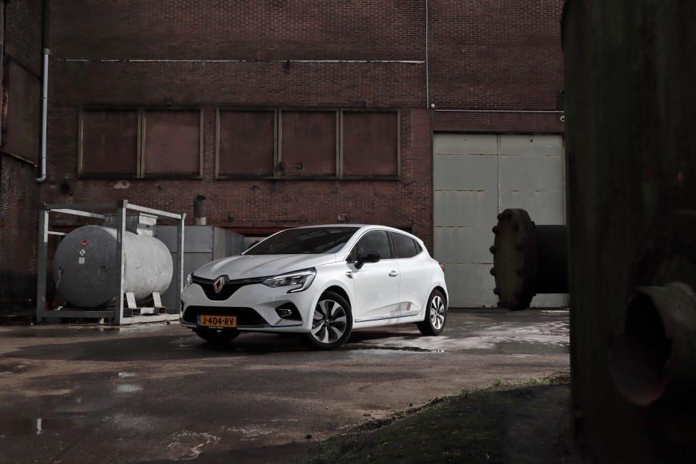 Renault Clio E-TECH Hybrid voorkant