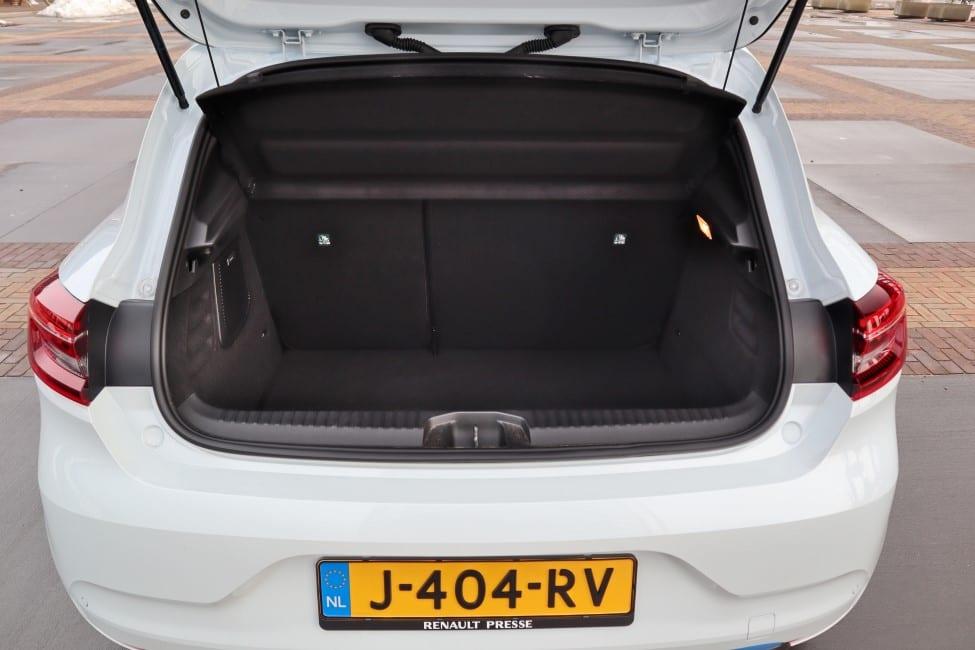 Renault Clio E-TECH kofferbak