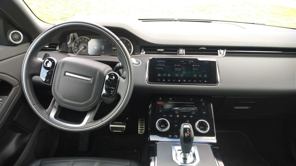 interieur Range Rover Evoque PHEVzwart