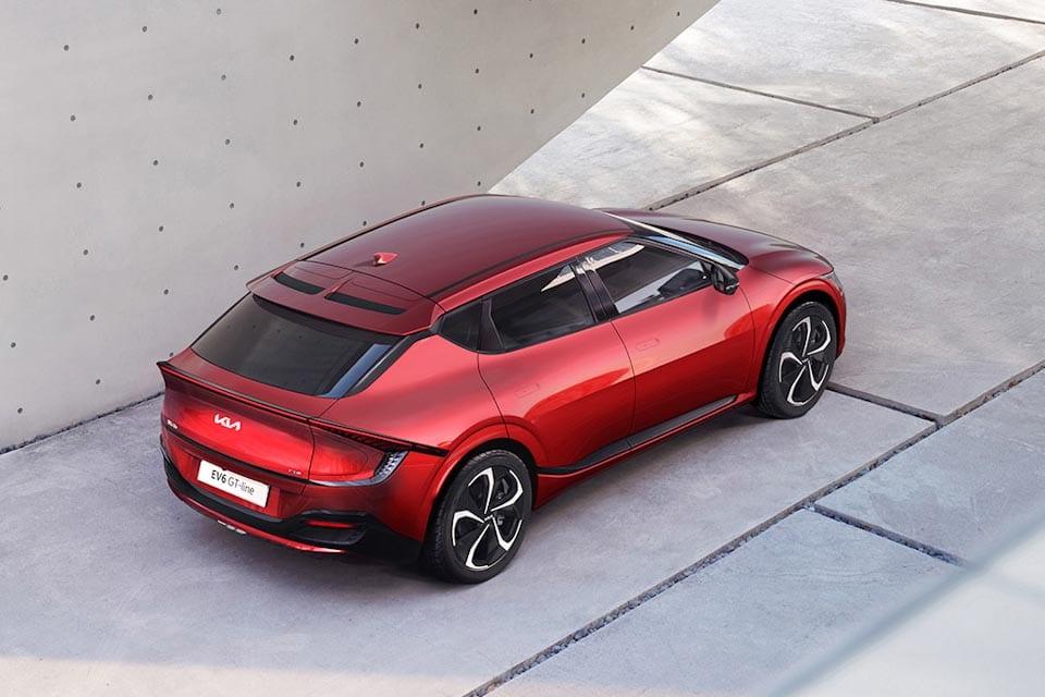 EV6 GT-line bovenaanzicht