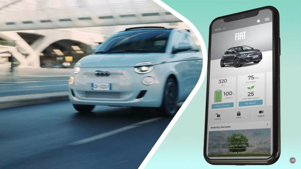 Fiat 500e App