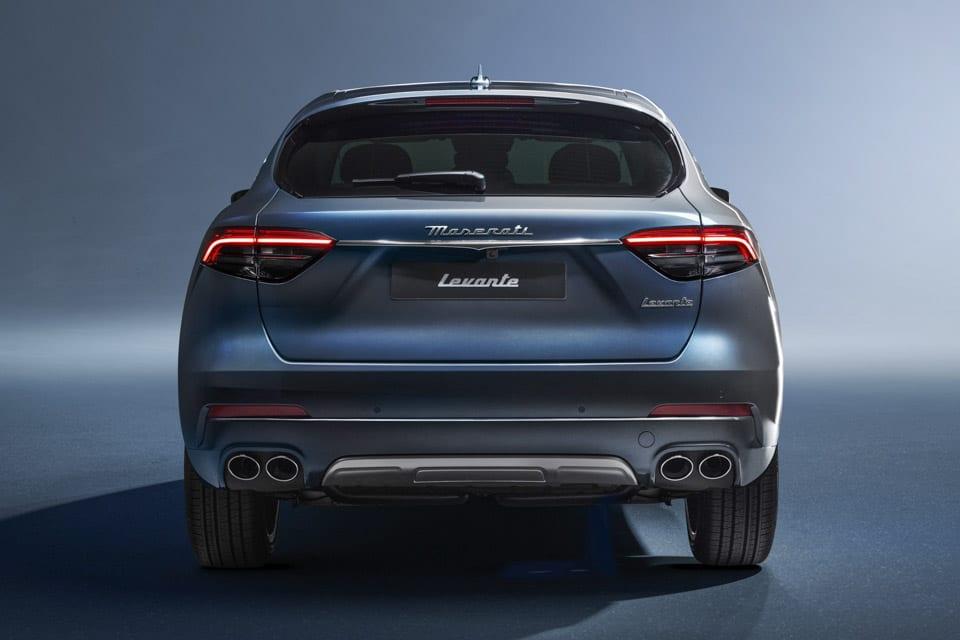 Achterzijde Maserati Levante Hybrid