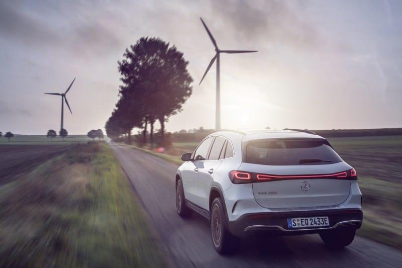Mercedes EQA CO2 neutraal