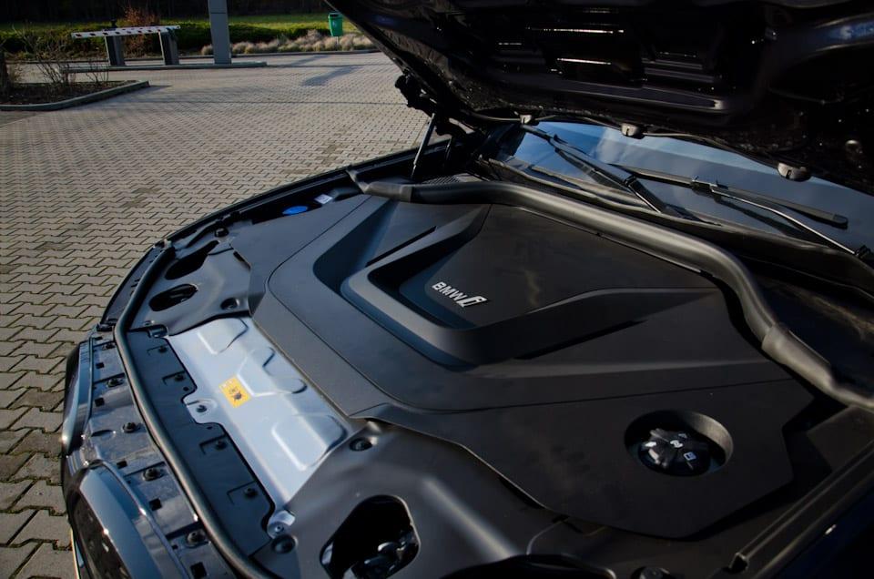 Plastic afdekplaat motorkap BMW iX3, BMW i