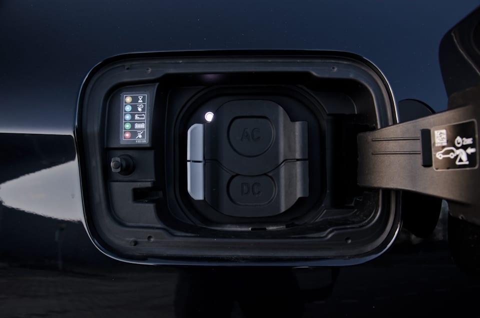 Afdekklepjes AC-laden DC-laden, BMW iX3