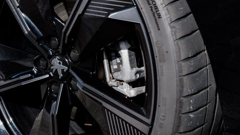 grijze achterremklauw Peugeot 508 PSE