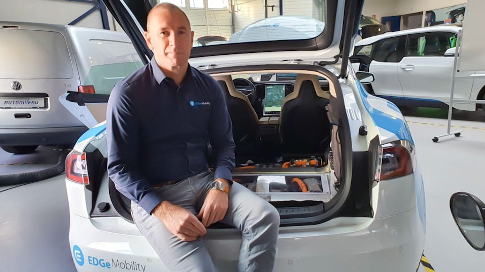 Ruud Beukers, Tesla Model S kofferbak, AutoNiveau EDGe Mobility