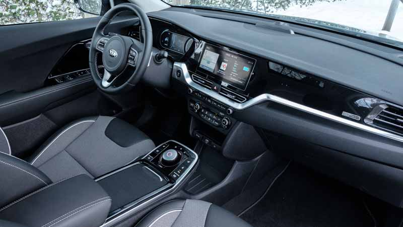 interieur en dashboard Kia e-Niro