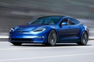 De sportieve looks van de Model S Plaid