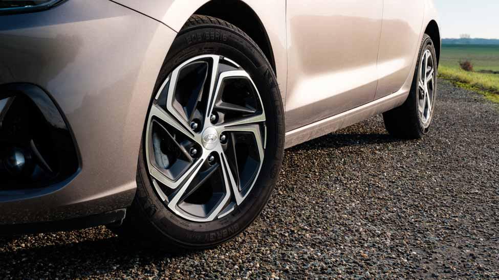 2021 Hyundai i30 16 inch lichtmetalen velgen
