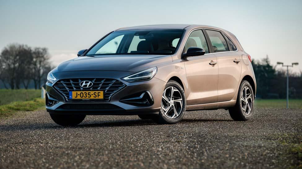 2021 Hyundai i30 3/4 voorkant