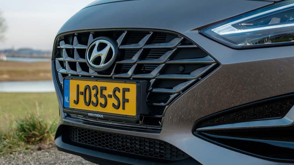 2021 Hyundai i30 grille