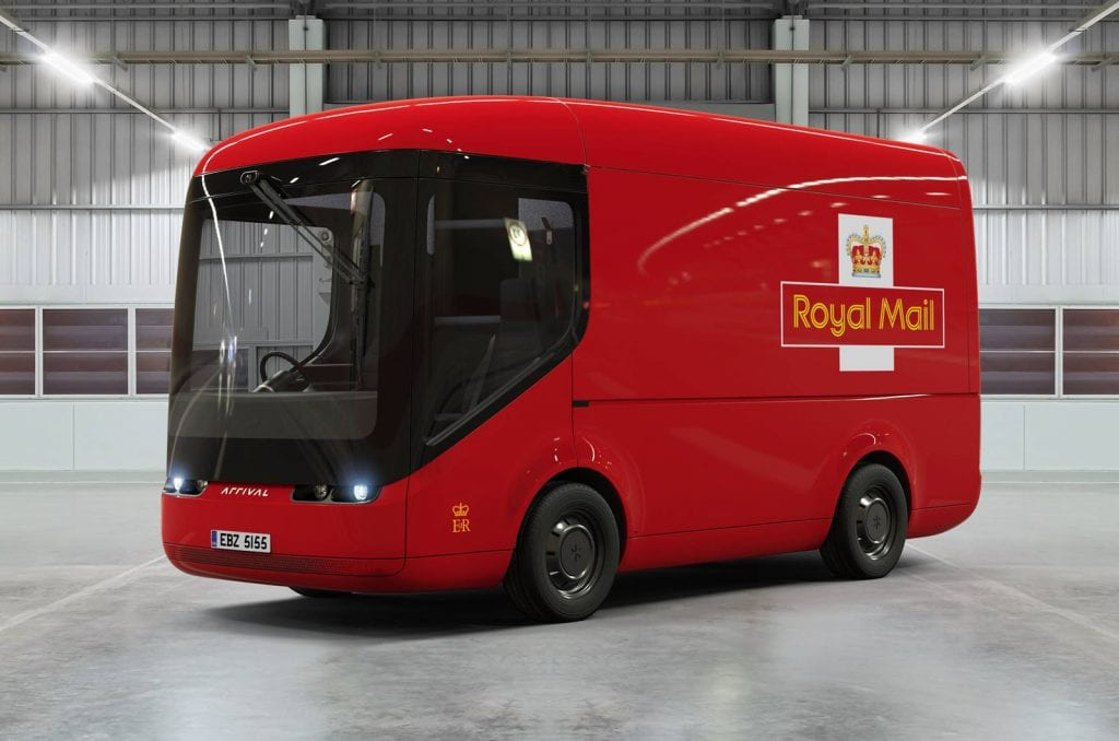 Arrival Van Royal Mail