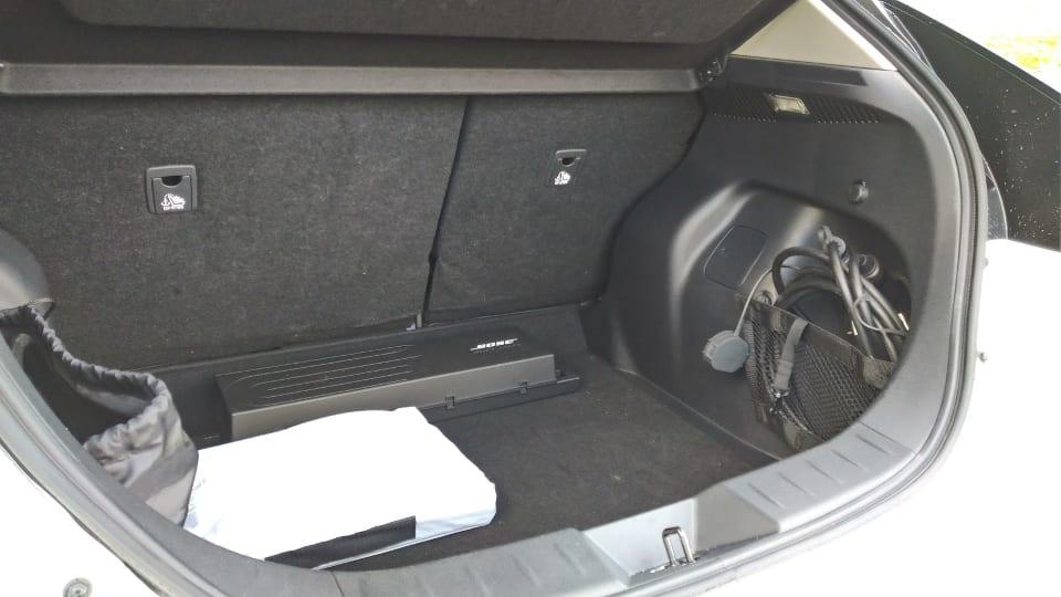 Kofferbak Nissan Leaf