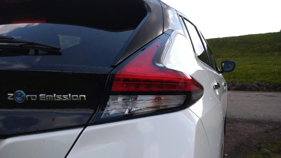 Zero Emission badge, achterlicht