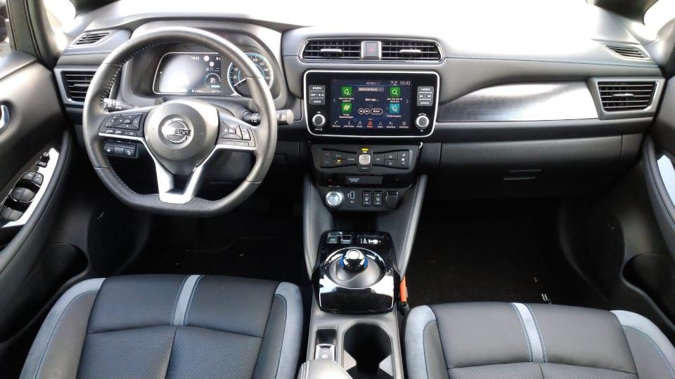 Interieur Nissan Leaf