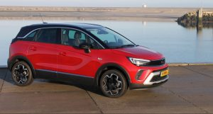 Opel Crossland rood 2021