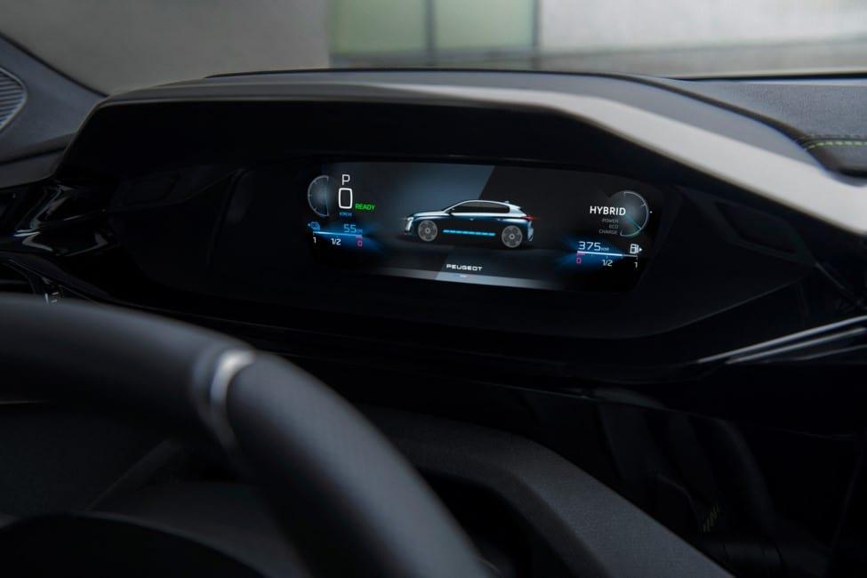 Peugeot digitaal dashboard weg door wereldwijd chiptekort