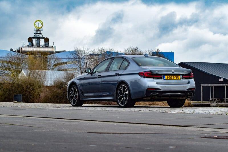Achterkant van de BMW 5 Serie