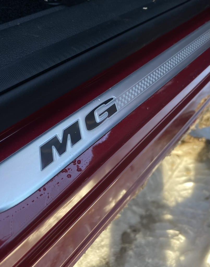dorpel badge MG EHS