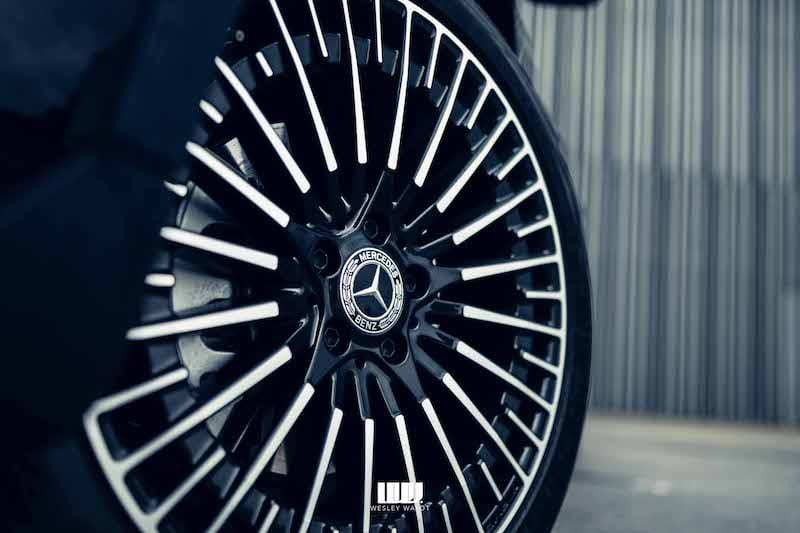20 inch spaakvelgen, Mercedes Benz logo