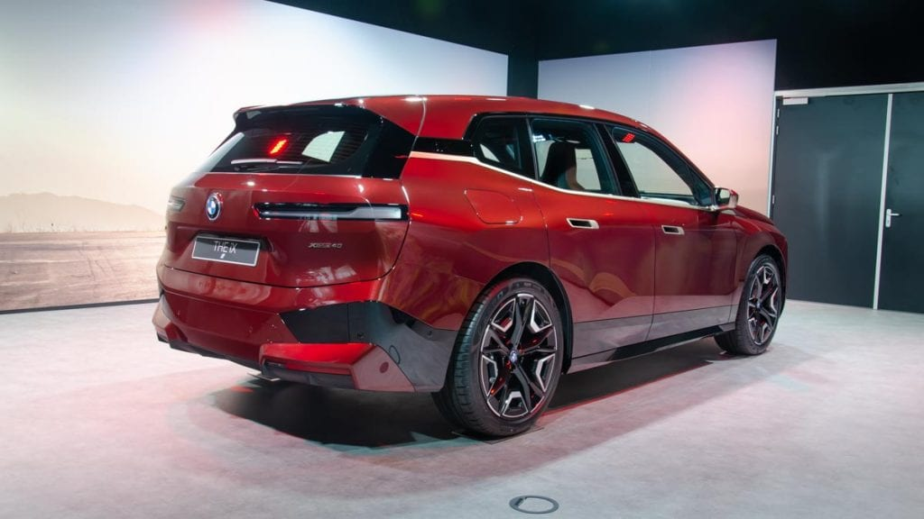 Rechterachterzijde BMW iX