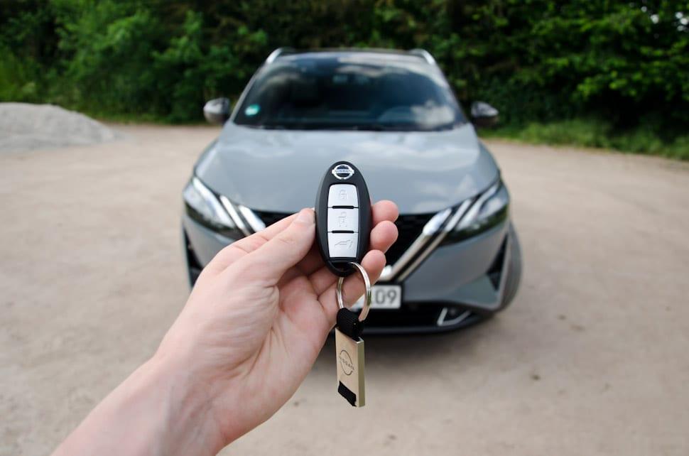 Sleutel Nissan Qashqai