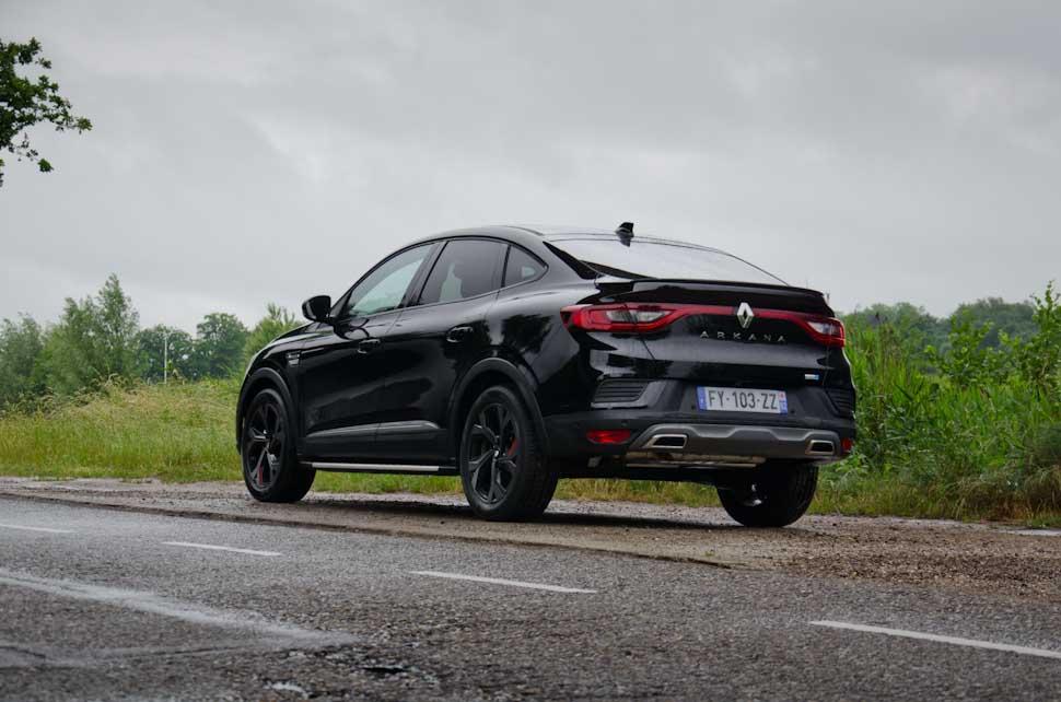 Linker achterzijde Renault Arkana